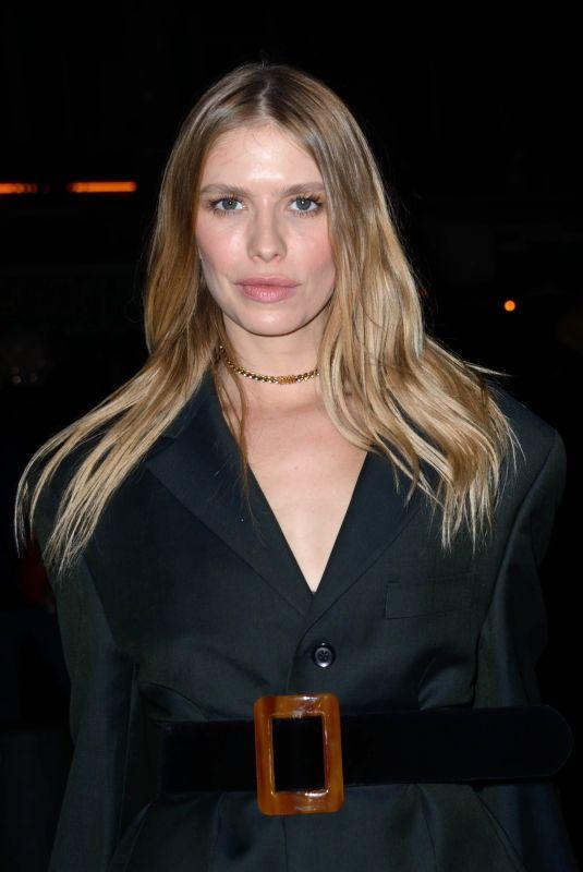 ELENA PERMINOVA at Giambattista Valli Fashion Show in Paris 01/21/2019