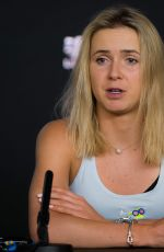 ELINA SVITOLINA at 2019 Australian Media Day in Melbourne 01/12/2019
