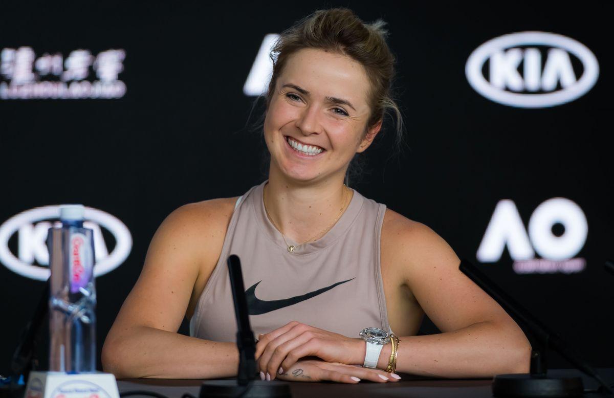 ELINA SVITOLINA at 2019 Australian Open Press Conference ...