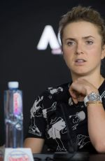 ELINA SVITOLINA at 2019 Australian Open Press Conference in Melbourne 01/21/2019