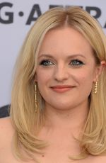 ELISABETH MOSS at Screen Actors Guild Awards 2019 in Los Angeles 01/27/2019