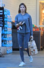 ELISABETTA CANALIS Shopping at Bristol Farms in Beverly Hills 01/22/2019
