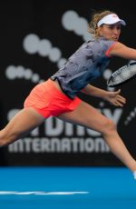 ELISE MERTENS at 2019 Sydney International Tennis 01/09/2019