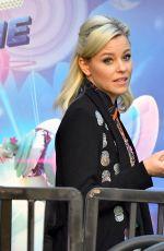 ELIZABETH BANKS Leaves Lego Movie Sequal Press Conference in Los Angeles 01/25/2019