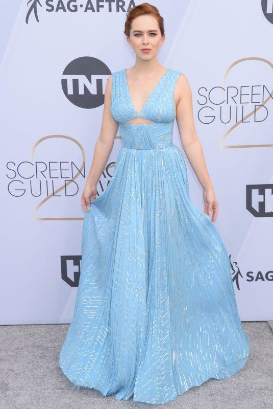 ELIZABETH MCLAUGHLIN at Screen Actors Guild Awards 2019 in Los Angeles 01/27/2019