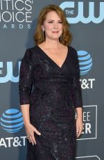ELIZABETH PERKINS at 2019 Critics' Choice Awards in Santa Monica 01/13/2019