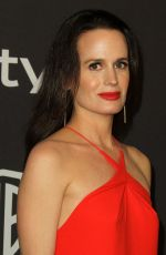 ELIZABETH REASER at Instyle and Warner Bros Golden Globe Awards Afterparty in Beverly Hills 01/06/2019