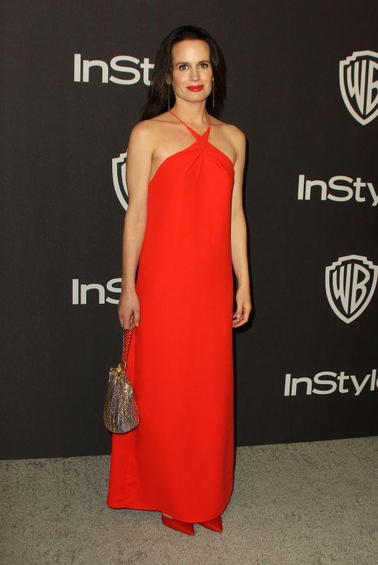 ELIZABETH REASER at Instyle and Warner Bros Golden Globe Awards Afterparty in Beverly Hills 01/06/2019