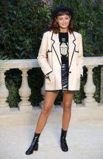 ELLA PURNELL at Chanel Fashion Show in Paris 01/22/2019