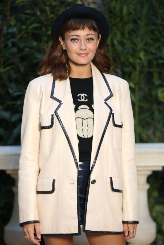 ELLA PURNELL at Chanel Fashion Show in Paris 01/22/2019