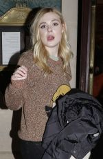 ELLE FANNING Arrives at Her Hotel in Paris 01/21/2019