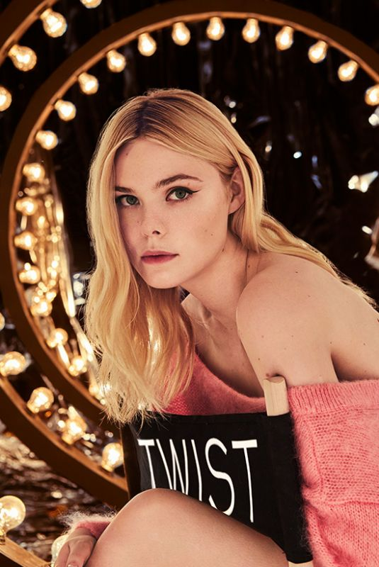 ELLE FANNING for Miu Miu Twist 2019 Campaign