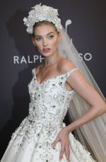 ELSA HOSK at Ralph & Russo Runway Show in at Paris Fashion Week 01/21/2019