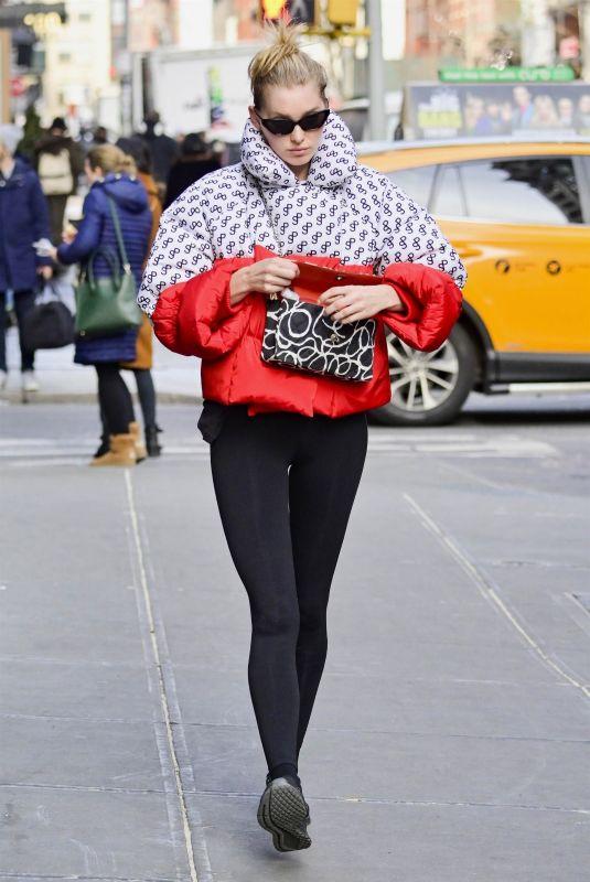 ELSA HOSK Out in New York 01/15/2019