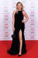 EMILY ATACK at 2019 National Television Awards in London 01/22/2019