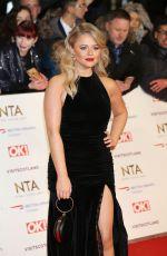 EMILY ATACK at 2019 National Televison Awards in London 01/22/2019