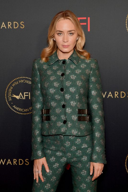 EMILY BLUNT at 19th Annual Afi Awards Luncheon in Beverly Hills 01/04/2019