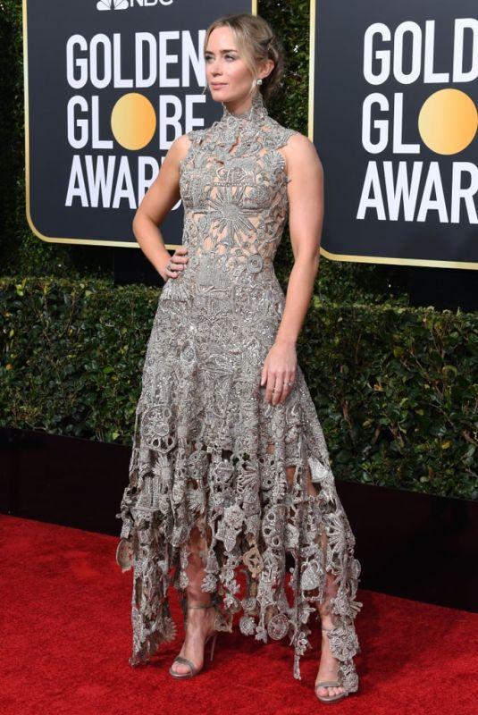 EMILY BLUNT at 2019 Golden Globe Awards in Beverly Hills 01/06/2019