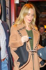 EMILY BLUNT at Mary Poppins Private Reception in New York 01/10/2019