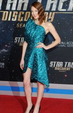 EMILY COUTTS at Star Trek: Discovery Season 2 Premiere in New York 01/17/2019