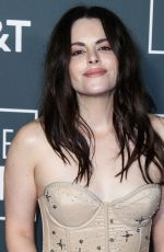 EMILY HAMPSHIRE at 2019 Critics' Choice Awards in Santa Monica 01/13/2019