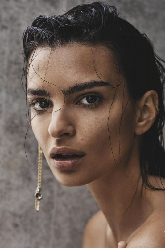 EMILY RATAJKOWSKI in GQ Magazine, Australia February 2019