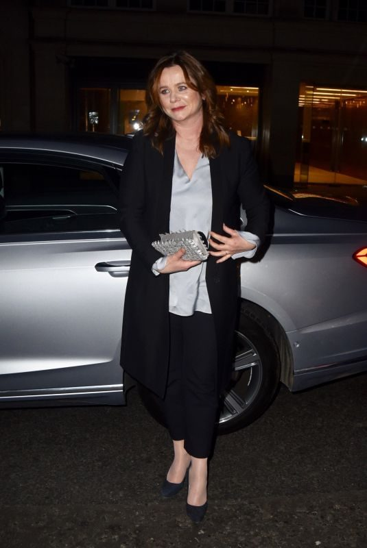 EMILY WATSON Arrives at London Critics' Circle Choice Awards in London 01/20/2019