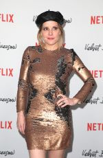 EMMA CAULFIELD at Velvet Buzzsaw Premiere in Los Angeles 01/28/2019