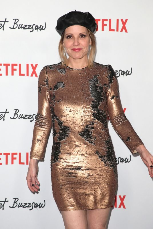 EMMA CAULFIELD at Velvet Buzzsaw Premiere in Los Angeles 01/28/2019