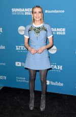 EMMA ROBERTS at Paradise Hills Premiere at Sundance Film Festival 01/26/2019