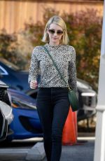 EMMA ROBERTS Out and About in West Hollywood 01/10/2019