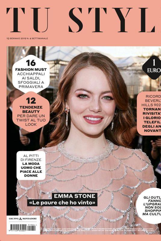 EMMA STOE in Tu Style Magazine, Italy January 2019