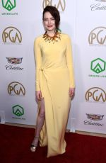 EMMA STONE at 2019 Producers Guild Awards in Beverly Hills 01/19/2019