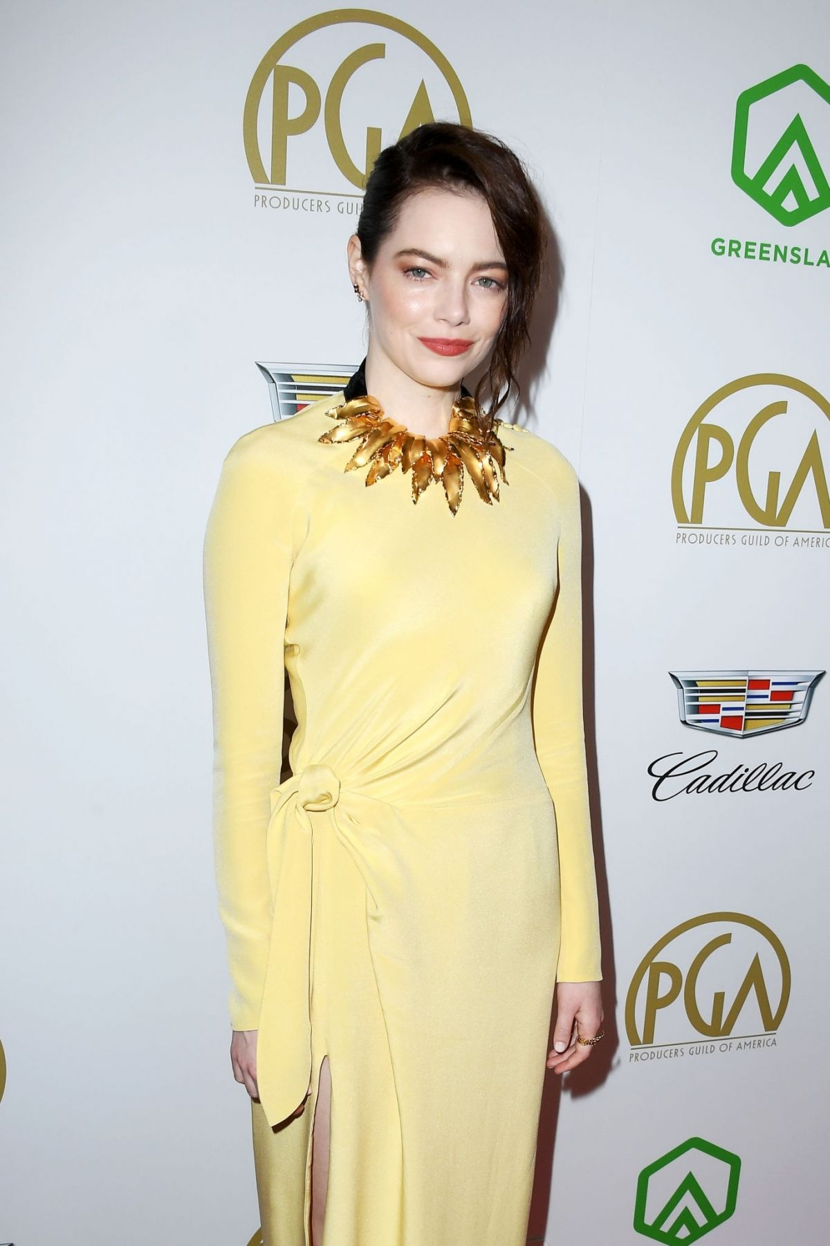 EMMA STONE at 2019 Producers Guild Awards in Beverly Hills