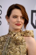 EMMA STONE at Screen Actors Guild Awards 2019 in Los Angeles 01/27/2019