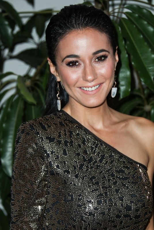 EMMANUELLE CHRIQUI at Entertainment Weekly Pre-sag Party in Los Angeles 01/26/2019