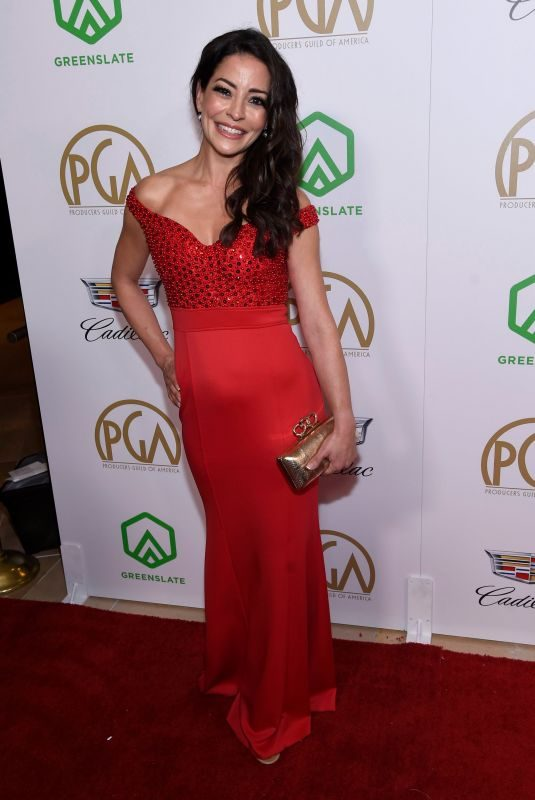 EMMANUELLE VAUGIER at 2019 Producers Guild Awards in Beverly Hills 01/19/2019