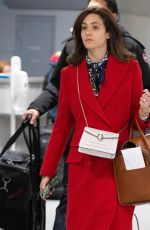 EMMY ROSSUM Arrives at JFK Airpoirt in New York 01/14/2019