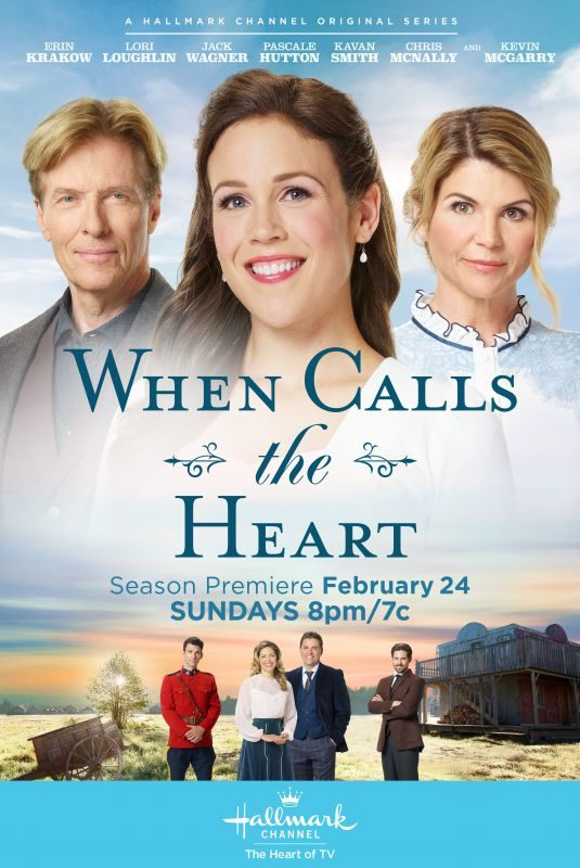 ERIN KRAKOW – When Calls the Heart, Season 6, Poster, Stills and Trailer