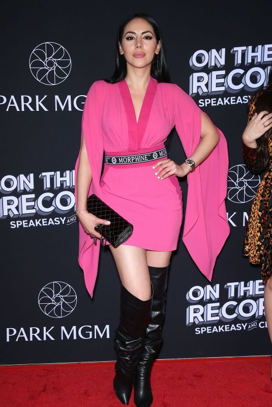 ESTHER ANAYA at On the Record Opening in Las Vegas 01/19/2019