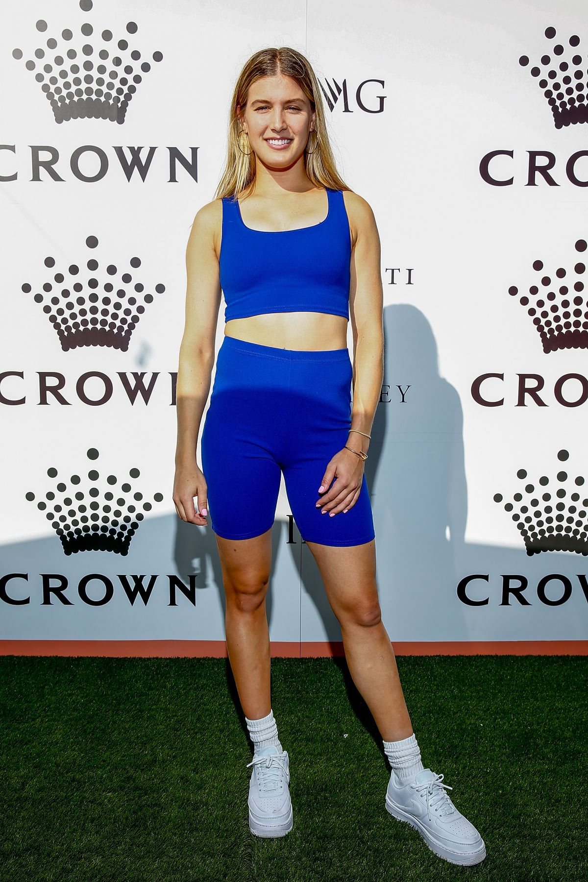EUGENIE BOUCHARD at Crown Img Tennis Party in Melbourne 01/13/2019
