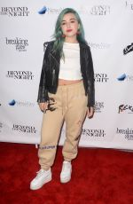 EZI at Anthem of a Teenage Prophet Premiere in Hollywood 01/10/2019
