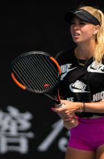 FANNY STOLLAR at 2019 Australian Open Practice Session at Melbourne Park 01/12/2019