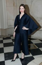 FELICITY JONES at Christian Dior Show at Paris Fashion Week 01/21/2019