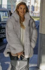 FERNE MCCANN Arrives at O2 Hotel in London 01/22/2019