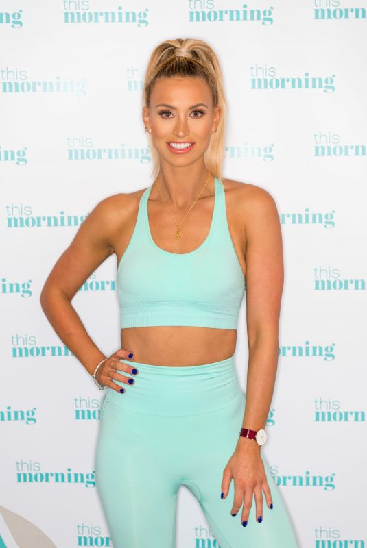 FERNE MCCANN at This Morning TV Show in London 01/09/2019