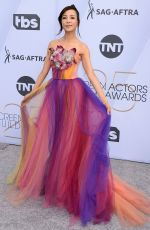 FIONA XIE at Screen Actors Guild Awards 2019 in Los Angeles 01/27/2019