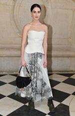 FIONA ZANETTI at Christian Dior Show at Paris Fashion Week 01/21/2019