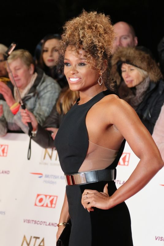 FLEUR EAST at 2019 National Television Awards in London 01/22/2019