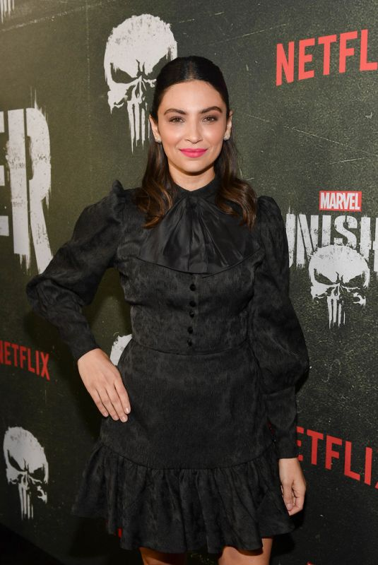 FLORIANA LIMA at The Punisher, Season 2 Premiere in Los Angeles 01/14/2019